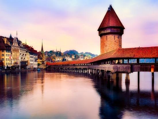švýcarsko Luzern